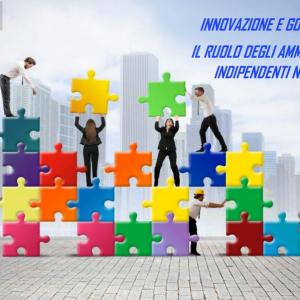 WEBINAR. Innovazione e governance: il ruolo degli amministratori indipendenti nelle PMI