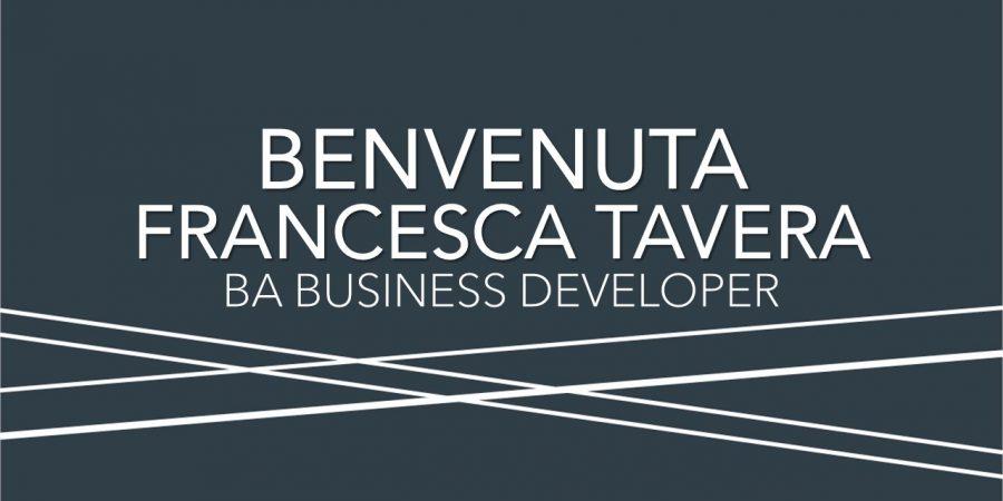 Benvenuta Francesca Tavera, nuova Business Developer di Bignami Associati