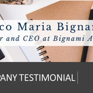 Company Testimonial: le parole di Enrico Maria Bignami sulla John Cabot University