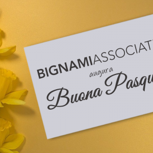 Buona Pasqua da Bignami Associati!